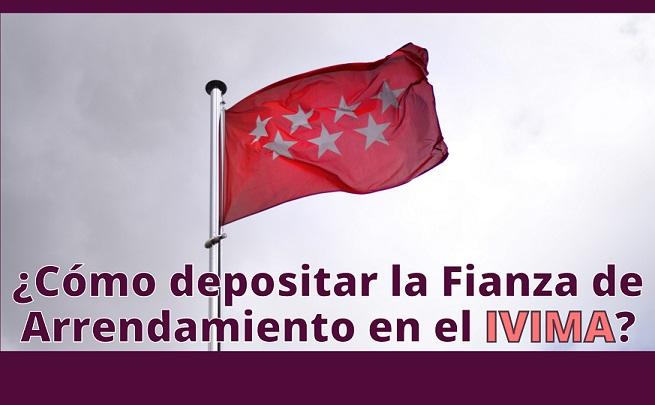 Comunidad de Madrid ¿cómo pagar la fianza de arrendamiento en el IVIMA?